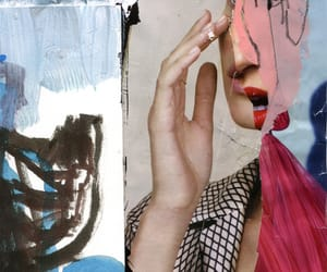 art, mixed media, and Collage image