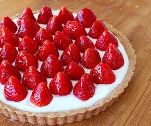 strawberry, tart, and yum image