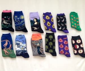 socks, art, and grunge image