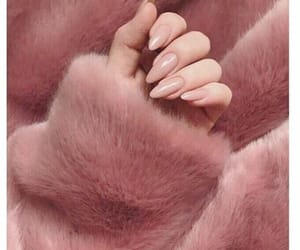 nails, pink, and rose gold image