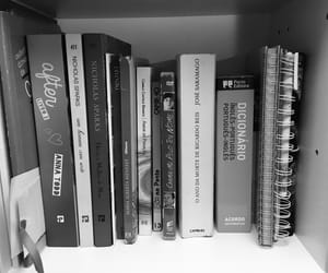 black, books, and learn image