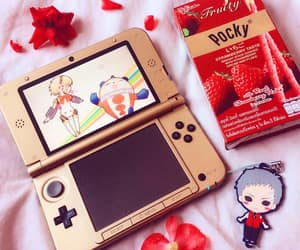 nerdy+geek+weeaboo, nintendo+3ds+gamepad, and persona+game+anime image