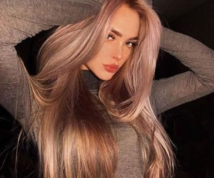 hair, hair color, and beauty inspiration image