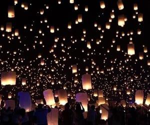 light, lantern, and festival image