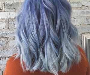 alternative, blue, and dyed hair image