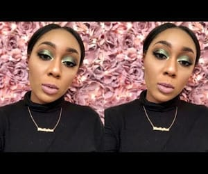 makeup, cut crease, and youtuber image