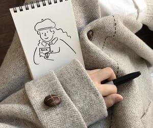 art, girl, and korean image