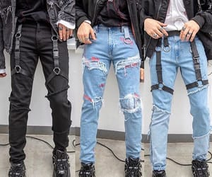 boys, jeans, and stylé image