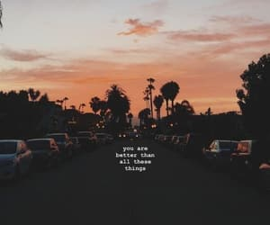 quotes, sunset, and wallpaper image