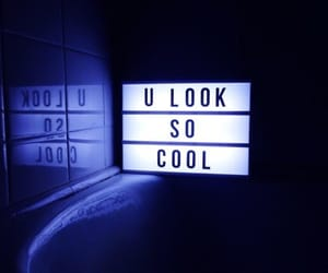 cool, light, and quotes image