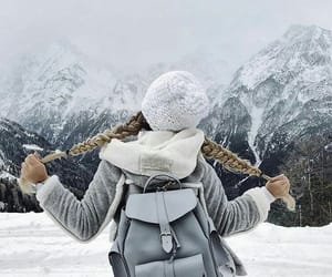 photography, winter, and travel image