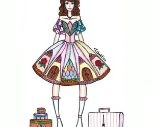 ballerina, drawing, and lolita image