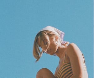 summer, girl, and vintage image