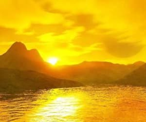 yellow, aesthetic, and landscape image