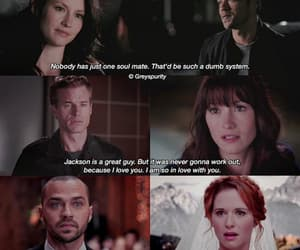happiness, soul mate, and grey's anatomy image