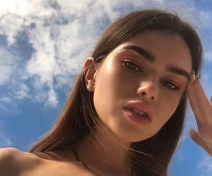 girls, makeup, and skin image