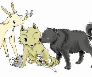 prongs, padfoot, and harry potter image
