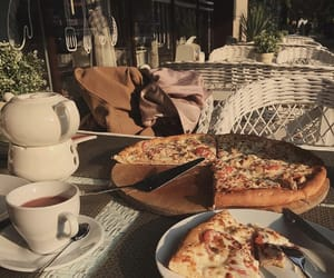 pizza, food, and aesthetic image