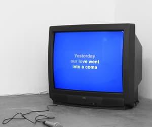 tv, grunge, and karaoke image