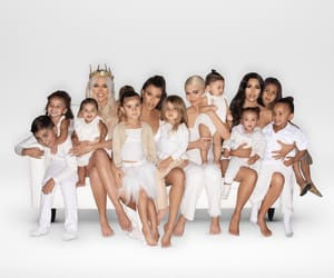 family, West, and khloe image