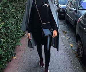 arabic, Balenciaga, and jacket image