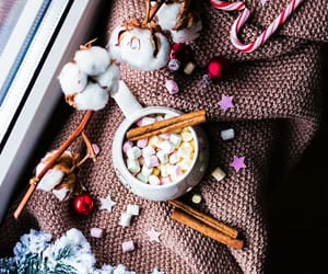 candy, coffee, and cozy image