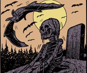 horror and skeleton image