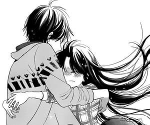 manga, taiyou no ie, and hug image