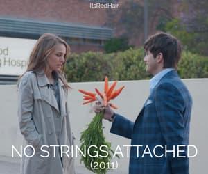 ashton kutcher, flowers, and natalie portman image