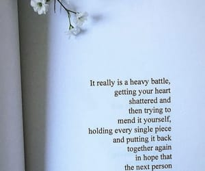 broken heart, hope, and longing image