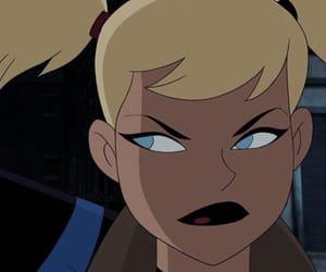 batman, blond, and cartoon image
