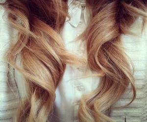 beautiful, curl, and girl image