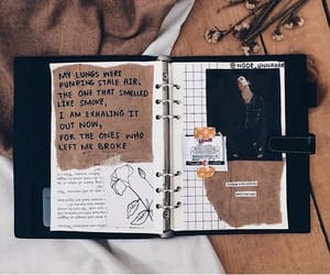 brown, colors, and planner image