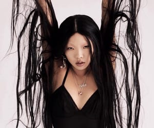 beauty, dark, and goth image
