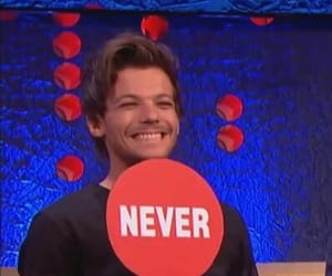 louis tomlinson, one direction, and meme image