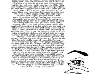breakup, heartbreak, and I Love You image