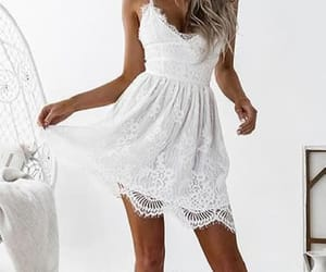 sexy homecoming dress, open back prom dresses, and prom dresses white image