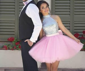 short prom dresses, prom dresses pink, and custom prom dresses image
