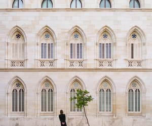 architecture, facade, and windows image