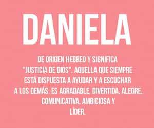 daniela, nombre, and significado image