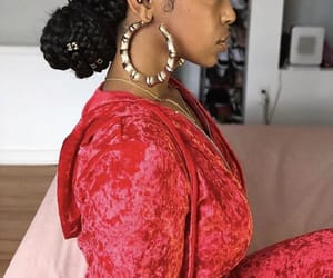 earring, fashion, and jewelry image