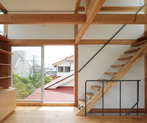 architecture, interior, and japanese image