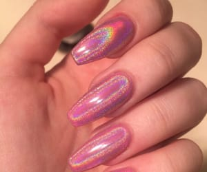 glitter, tumblr, and nail image