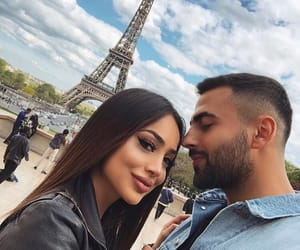 Relationship, couple, and paris image