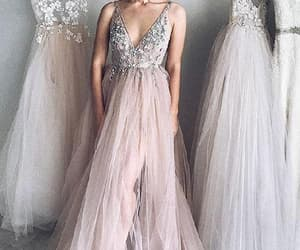 dress and modest prom dress image