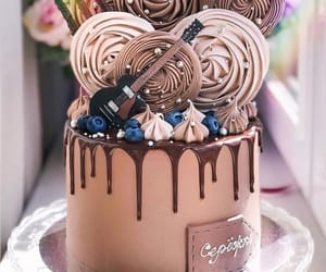 cake, chocolat, and gâteau image