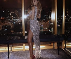 dress, luxury, and beauty image