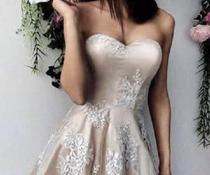 cute homecoming dress, prom dress lace, and homecoming dress short image