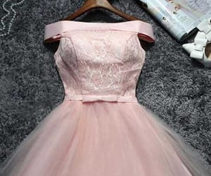 cute prom dress, prom dress lace, and prom dress short image