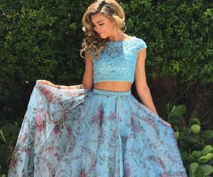 prom dress, long sleeves prom dresses, and custom made prom dresses image